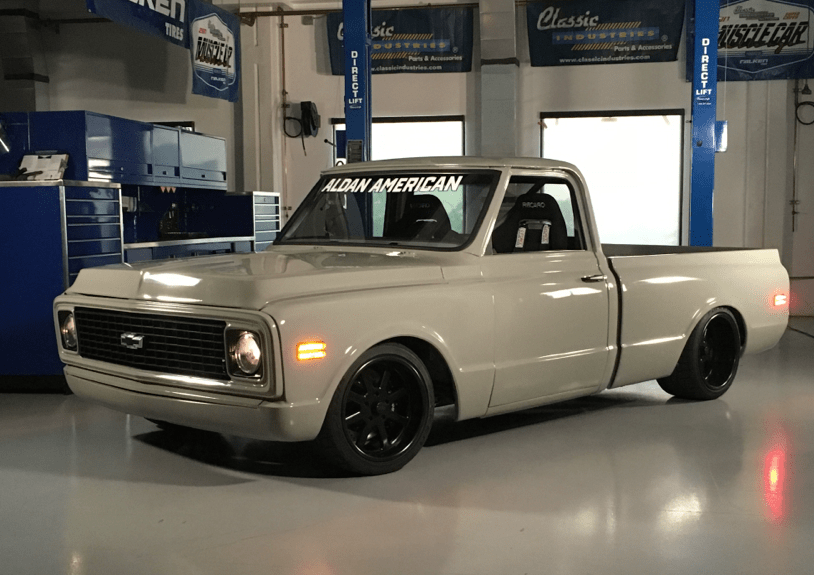 1971 C10 Unveils At Muscle Car Challenge Aldan American