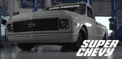 Super Chevy Magazine highlights Aldan American Coilovers on C10 Chevy Pickup