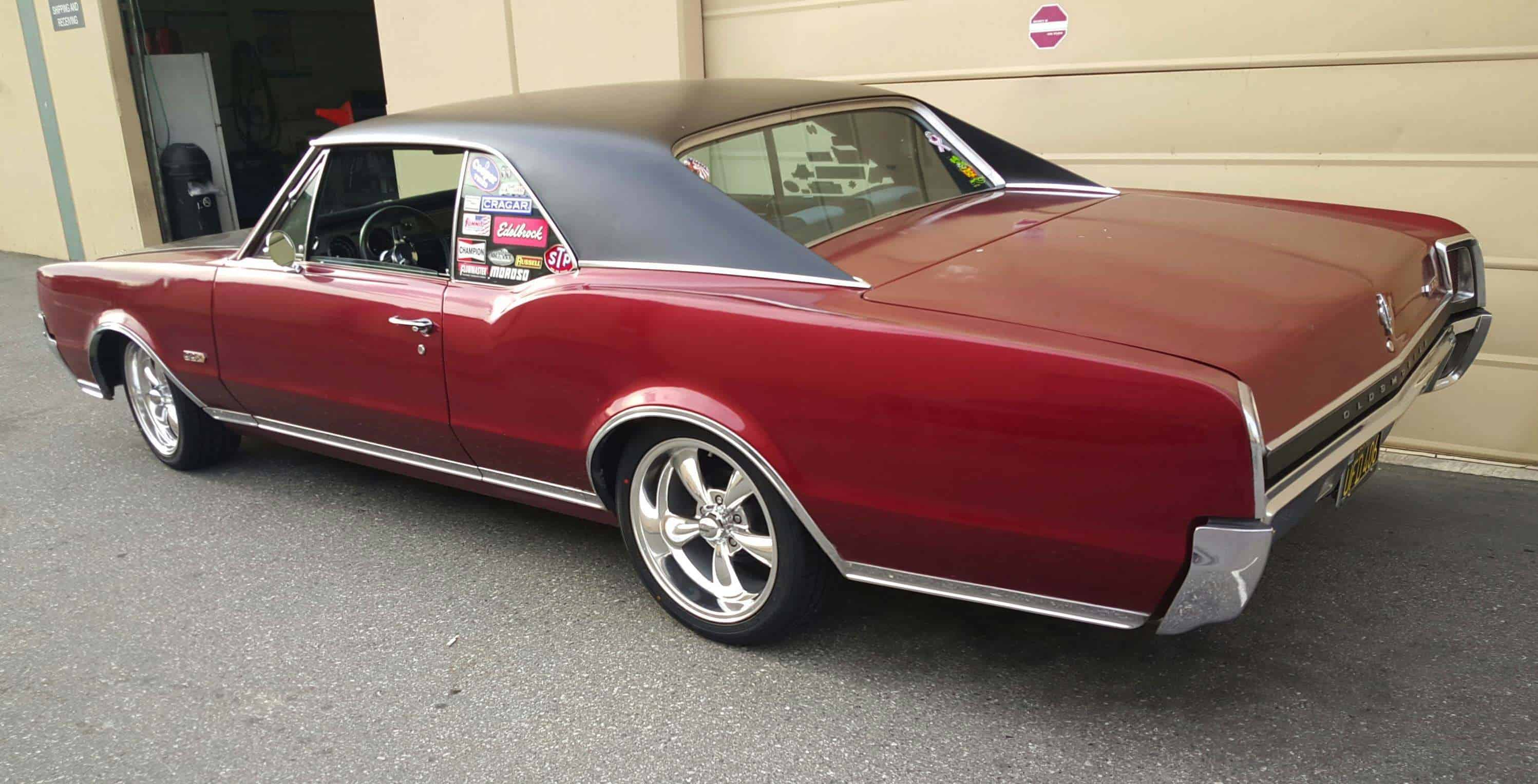 Check out these '67 Oldsmobile 442 Coilovers - Aldan American