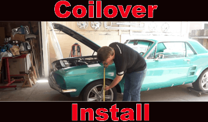 Coilover Shocks 67′ Ford Mustang – DIY Install