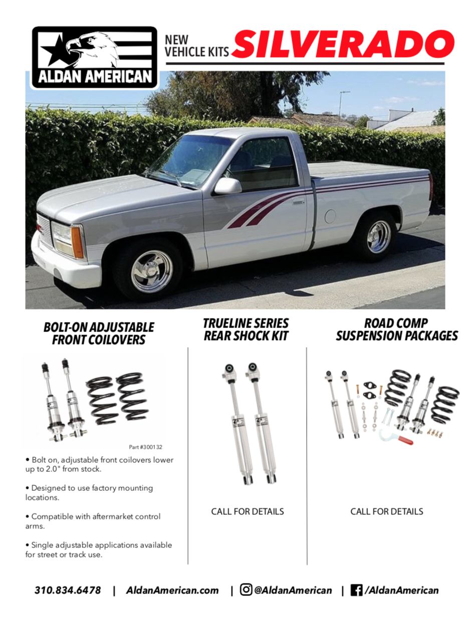 1988-1998 Chevy/GMC GMT400 C1500 Coilovers | Aldan American