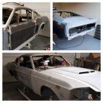1967 mustang fastback, classic car