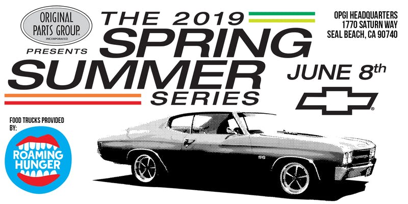 2019 Spring Summer Series June 8th
