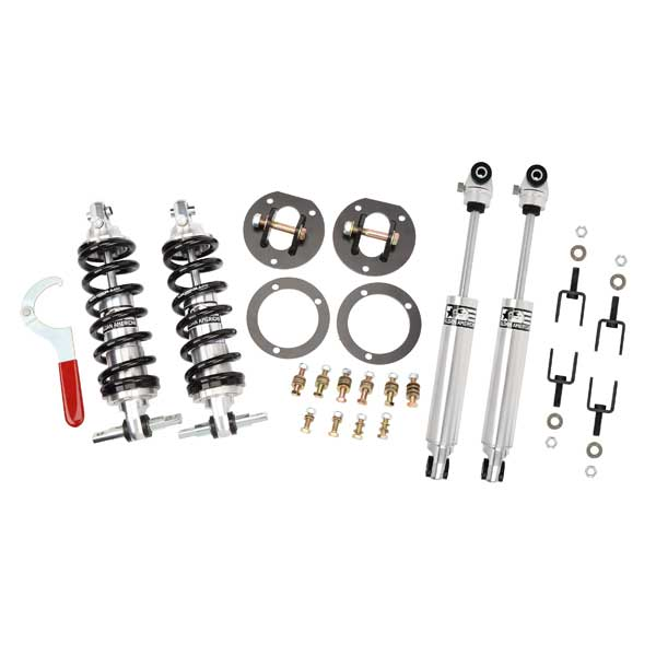 Aldan American Mustang coilovers with rear shocks, part # 300124