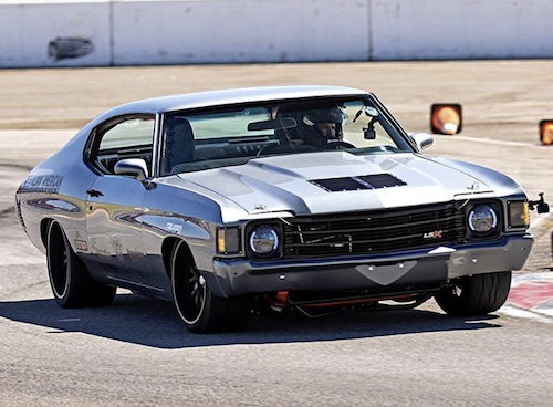 One Off Rides Garage 1972 Chevelle