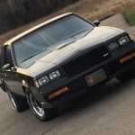Black Buick Grand National G-Body Front End Pic