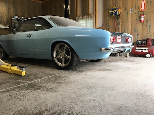 Corvair Coilover Chassis (C5 Vette IRS) - Aldan American