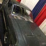 Steve McQueen's 1968 Bullit Mustang Sitting in building