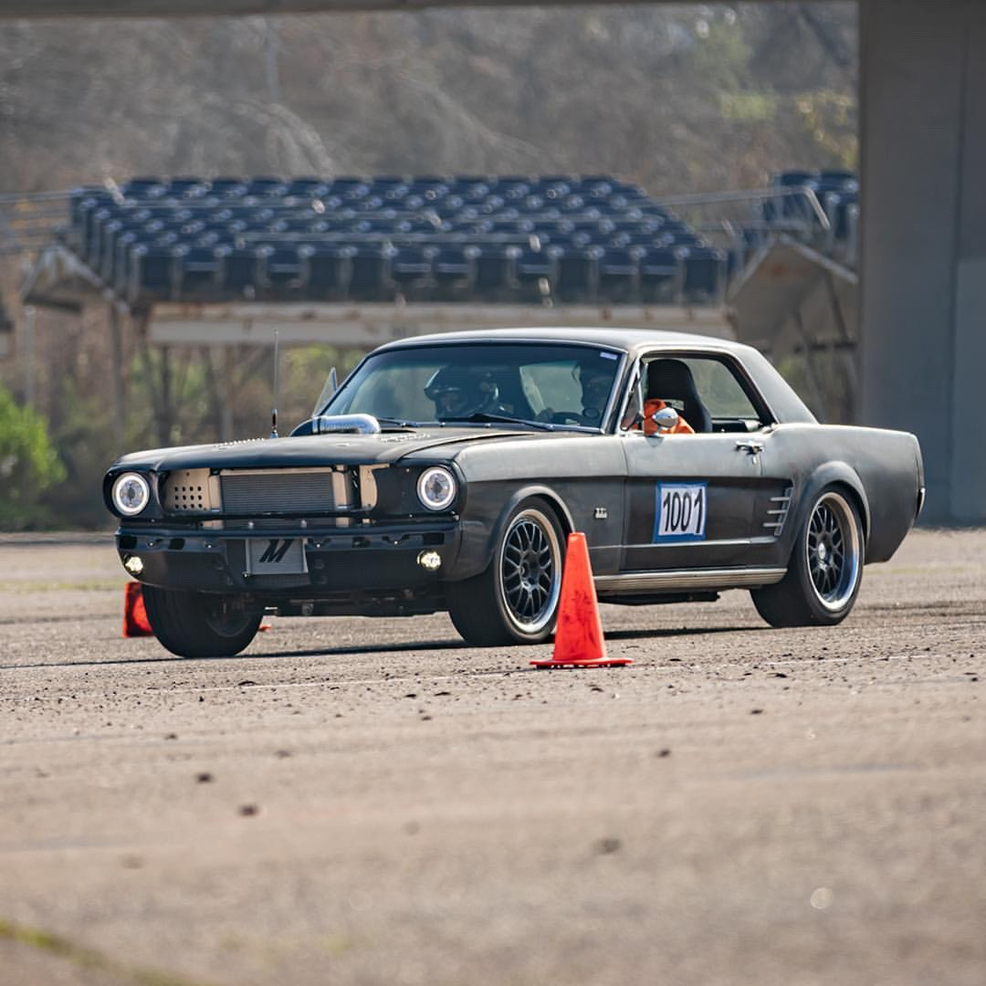 Autocross Mustang Coilovers