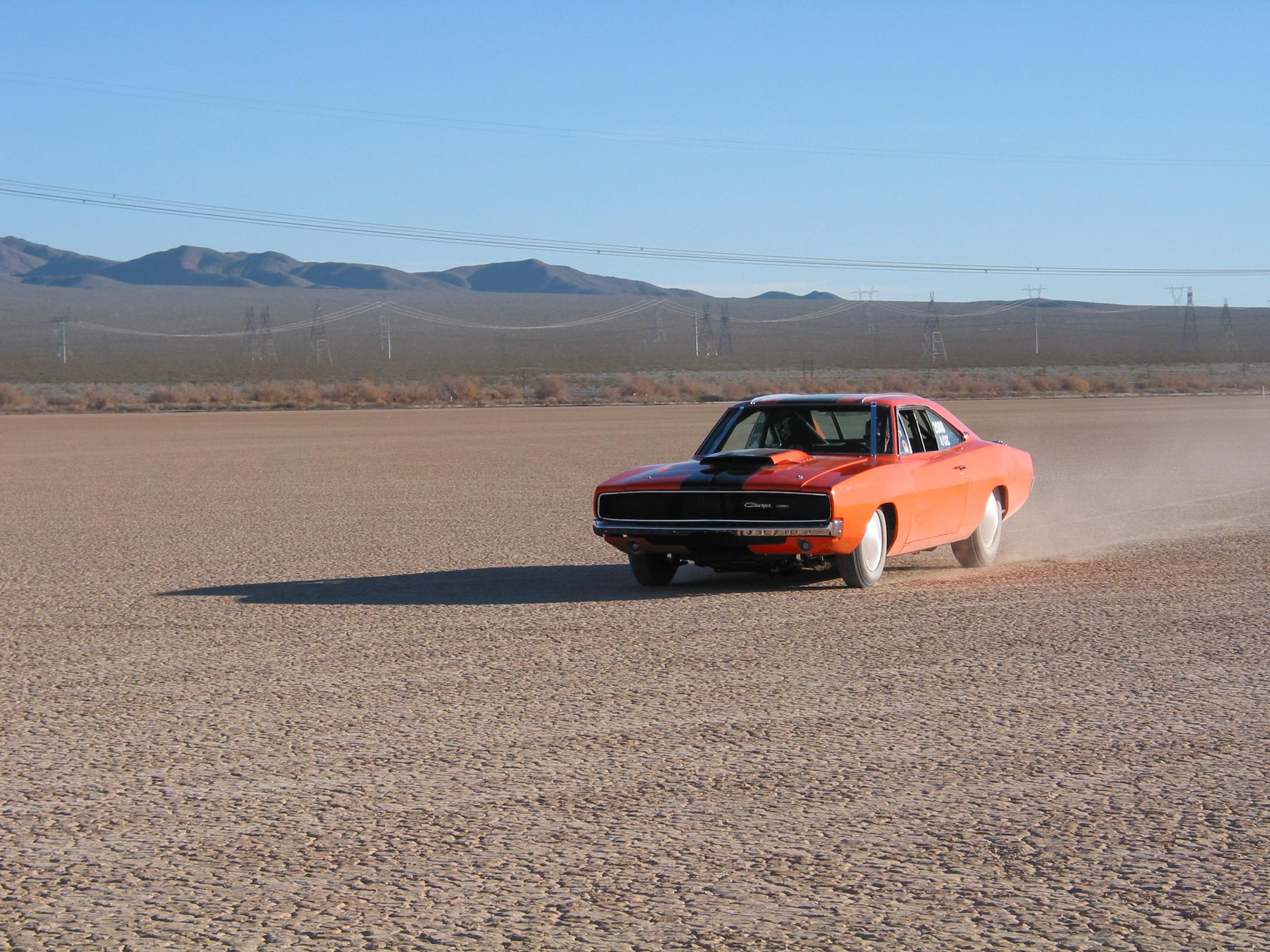 El Mirage Dodge Charger Salt Flats