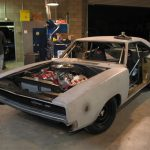 Jimmy Shine Speed Shop Dodge Charger bare metal