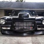 2nd gen Camaro front end, black car